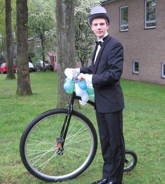 Gekke fiets hoge bi verhuur huren gekke fietsen